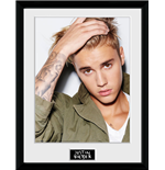 Justin Bieber - Green Jacket (Stampa In Cornice 30x40 Cm)