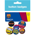 Barcelona - Crests (Badge Pack)