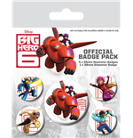 Big Hero 6 - Characters (Pin Badge Pack)