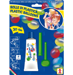 Dulcop Bubble World - Bolle Di Plastica - Balloo Ball - Blister 1 Tubo 30 Gr