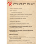 Instructions For Life - Dalai Lama (Poster Maxi 61X91,5 Cm)
