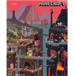 Minecraft - World (Poster Mini 40x50 Cm)