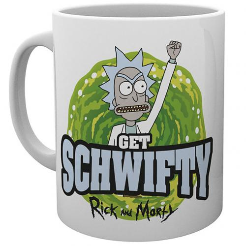 Tazza Rick and Morty Schwifty