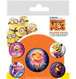 Despicable Me 3 (80'S Vibe) (Badge Pack)