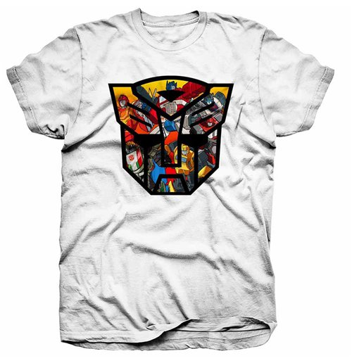 Hasbro - Transformers Autobot Shield Montage (T-SHIRT Unisex )