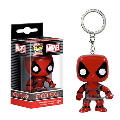 Portachiavi Deadpool Funko Pop