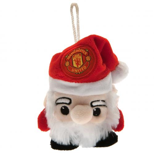 Peluche Babbo Natale Manchester United