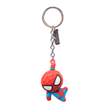 Spiderman - Character 3D Rubber Red (Portachiavi)