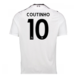 Maglia 2017/18 Liverpool FC 2017-2018 Away (Coutinho 10)