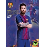 Calendario Barcellona F.C. Messi 2018