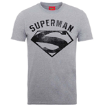 T-shirt Supereroi DC Comics da uomo - Design: Superman Logo Spray