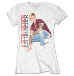 T-shirt Justin Bieber Plaid
