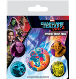 Guardians Of The Galaxy 2 (Cosmic) (Badge Pack)
