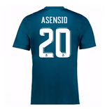 Maglia 2017/18 Real Madrid Third (Asensio 20)