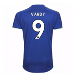 Maglia 2017/18 Leicester City F.C. Home (Vardy 9)
