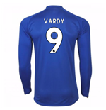 Maglia Manica Lunga 2017/18 Leicester City F.C. Home (Vardy 9)
