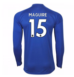 Maglia Manica Lunga 2017/18 Leicester City F.C. Home (Maguire 15)