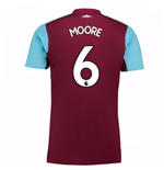Maglia 2017/18 West Ham United 2017-2018 Home (Moore 6)