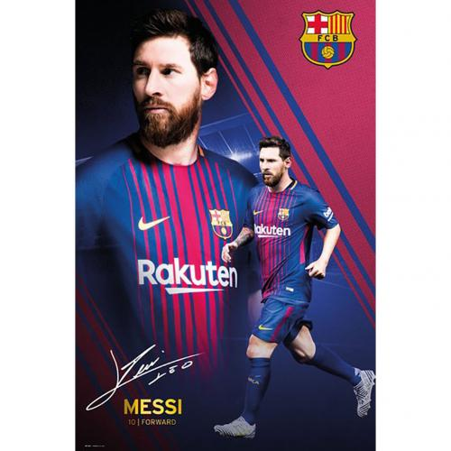 Poster Barcellona Messi 49