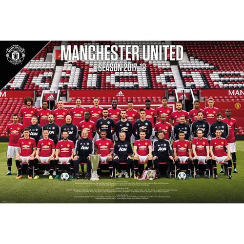Poster Manchester United Squad 52