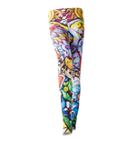 Legend Of Zelda (THE) - Windwaker Hd All Over Printed Multicolor (leggings )