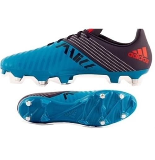 separation shoes a637a 7199d All Blacks Malice Sg BLU-AZZURRO Scarpa Rugby Ibrida