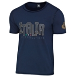 Italia Volley T-SHIRT Ufficiale Blu