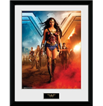 Wonder Woman Movie - Group (Stampa In Cornice 30X40 Cm)