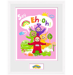 Teletubbies - Eh Oh (White) (Stampa In Cornice 30x40cm)