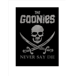 The Goonies - Never Say Die (Poster 80X60 Cm)