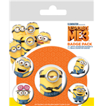 Despicable Me 3 (Minions) (Badge Pack)