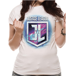 Justice League Movie - Purple Shield (T-SHIRT Unisex )