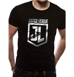 Justice League Movie - Foil Logo (T-SHIRT Unisex )