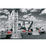 London - Tower Bridge Buses (Poster Maxi 61x91,5 Cm)