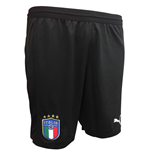 Pantaloncini Short Italia Calcio 2018-2019 Home (Nero)