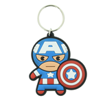 Portachiavi Marvel Kawaii - Captain America