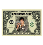 Scarface - Dollar Bill (Poster)