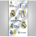 Real Madrid mini adesivi loghi grafici