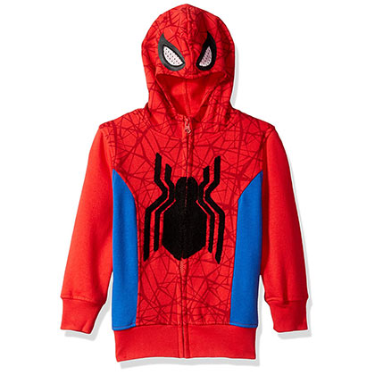 Felpa Spider-Man Big Boys Costume