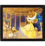 Beauty And The Beast - Ballroom (Poster Lenticolare 3D)