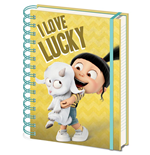 Despicable Me 3 - I Love Lucky (Quaderno A5)