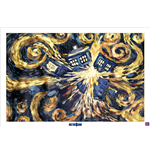 Poster Doctor Who - Exploding Tardis - 61X91,5 Cm