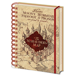 Harry Potter (The Marauders Map) (Quaderno A5)