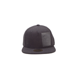 Jack Daniel's - Woven Bottle Logo Snapback with Velcro Closing Black (Cappellino)