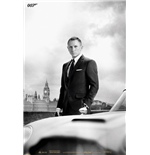 James Bond - Bond & Db5 - Skyfall (Poster Maxi 61X91,5 Cm)