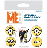Minions / Cattivissimo Me - Minions (Pin Badge Pack)