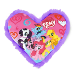 My Little Pony - Cuscino A Cuore In Peluche 33X33 Cm