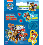 Paw Patrol - On A Roll (Set Adesivi 12,5X10 Cm)