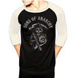 Sons Of Anarchy - Logo Baseball (T-SHIRT Unisex )