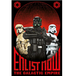Star Wars Rogue One - Enlist Now (Poster Maxi 61X91,5 Cm)